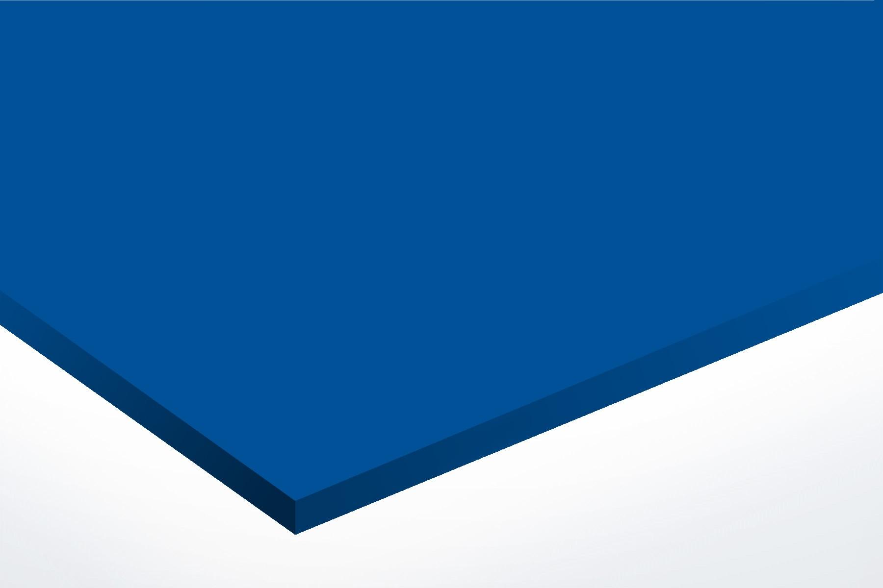 Anodised Aluminium Blue, Matt, 1mm x 1000mm x 500mm