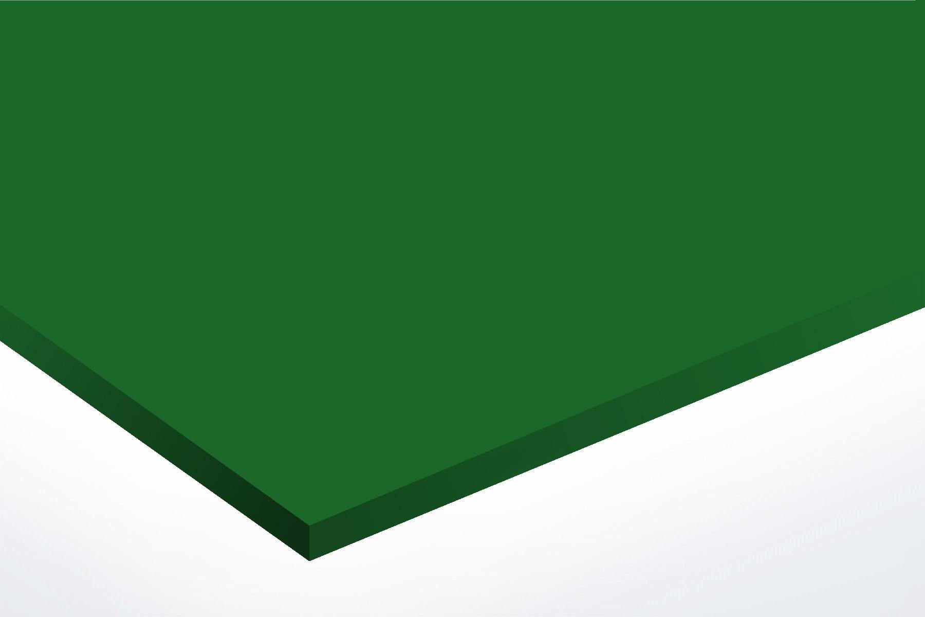 Anodised Aluminium Green, Matt, 1mm x 1000mm x 500mm