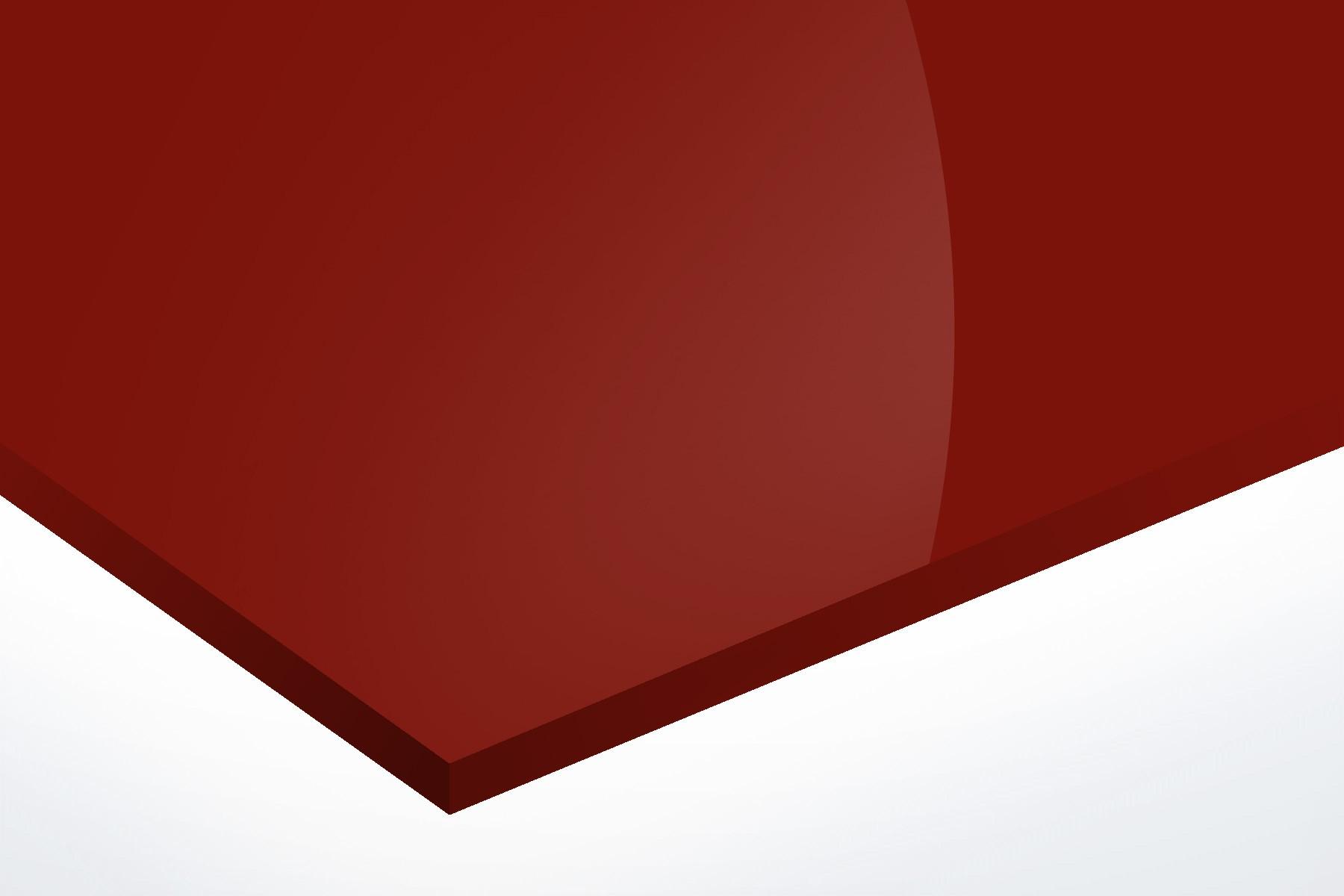 Anodised Aluminium Red, Gloss 1mm x 1000mm x 500mm