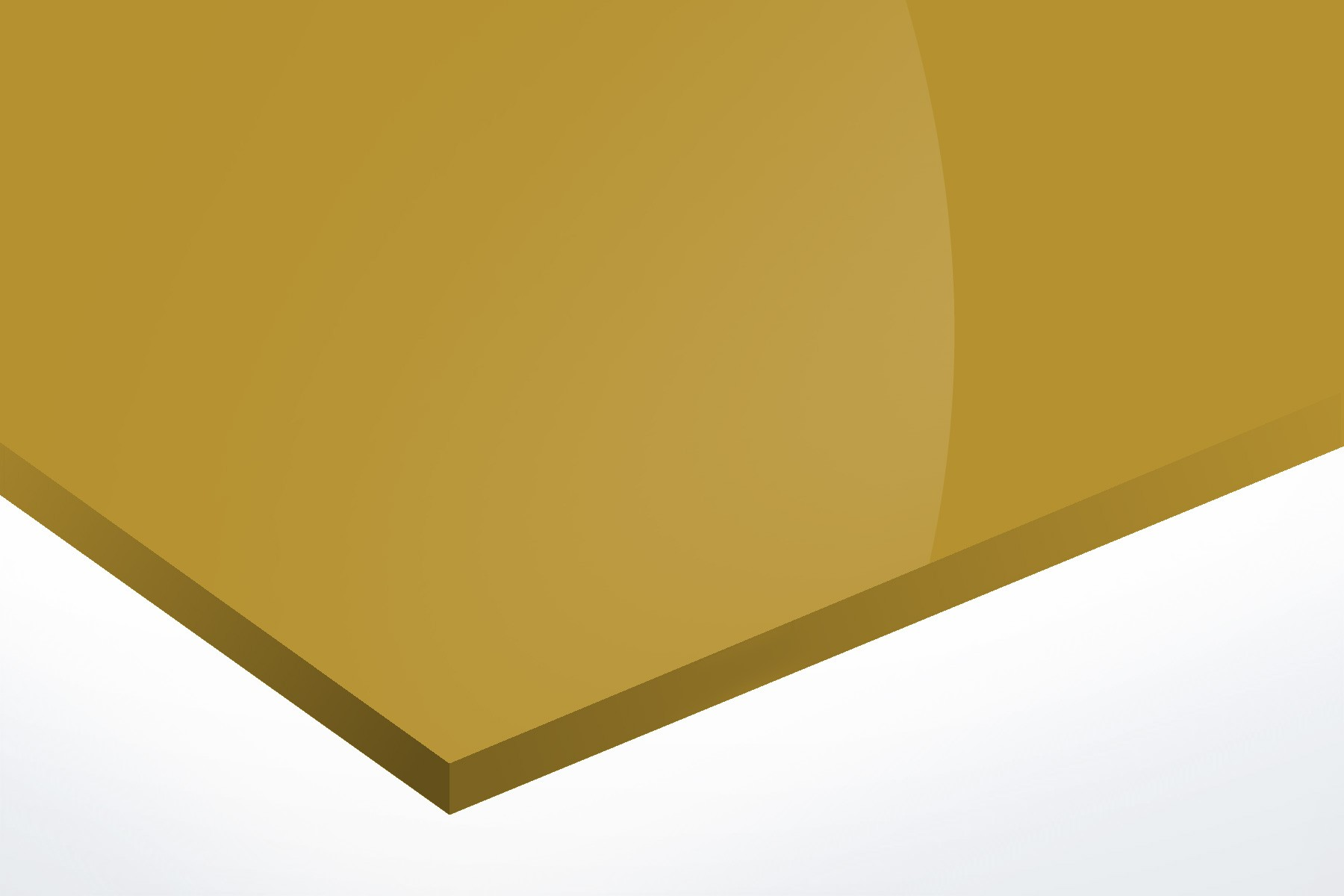 Anodised Aluminium Gold, Gloss 1mm x 1000mm x 500mm