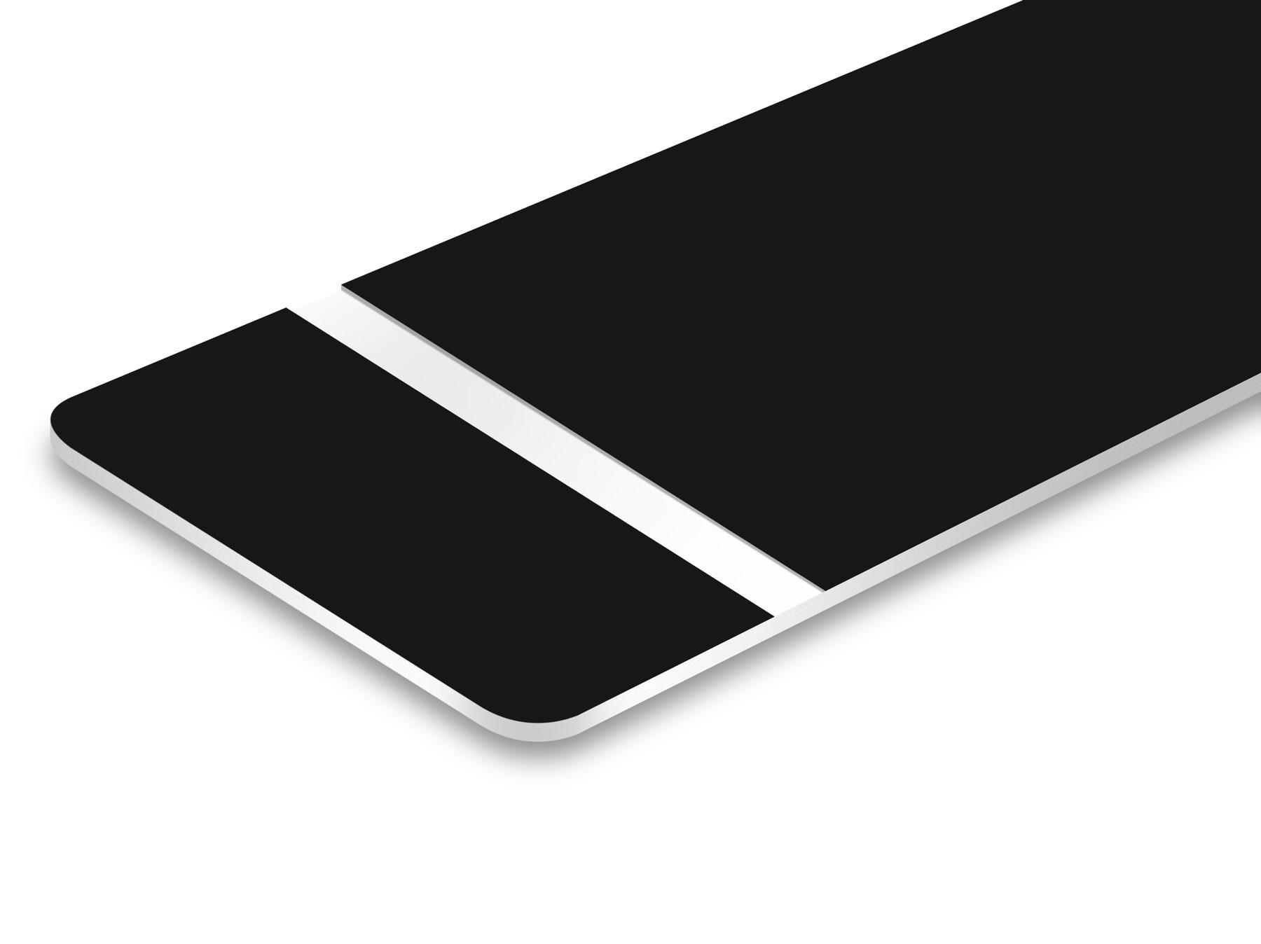 TroLase Lights, Black/White, 2ply, 0.1 mm