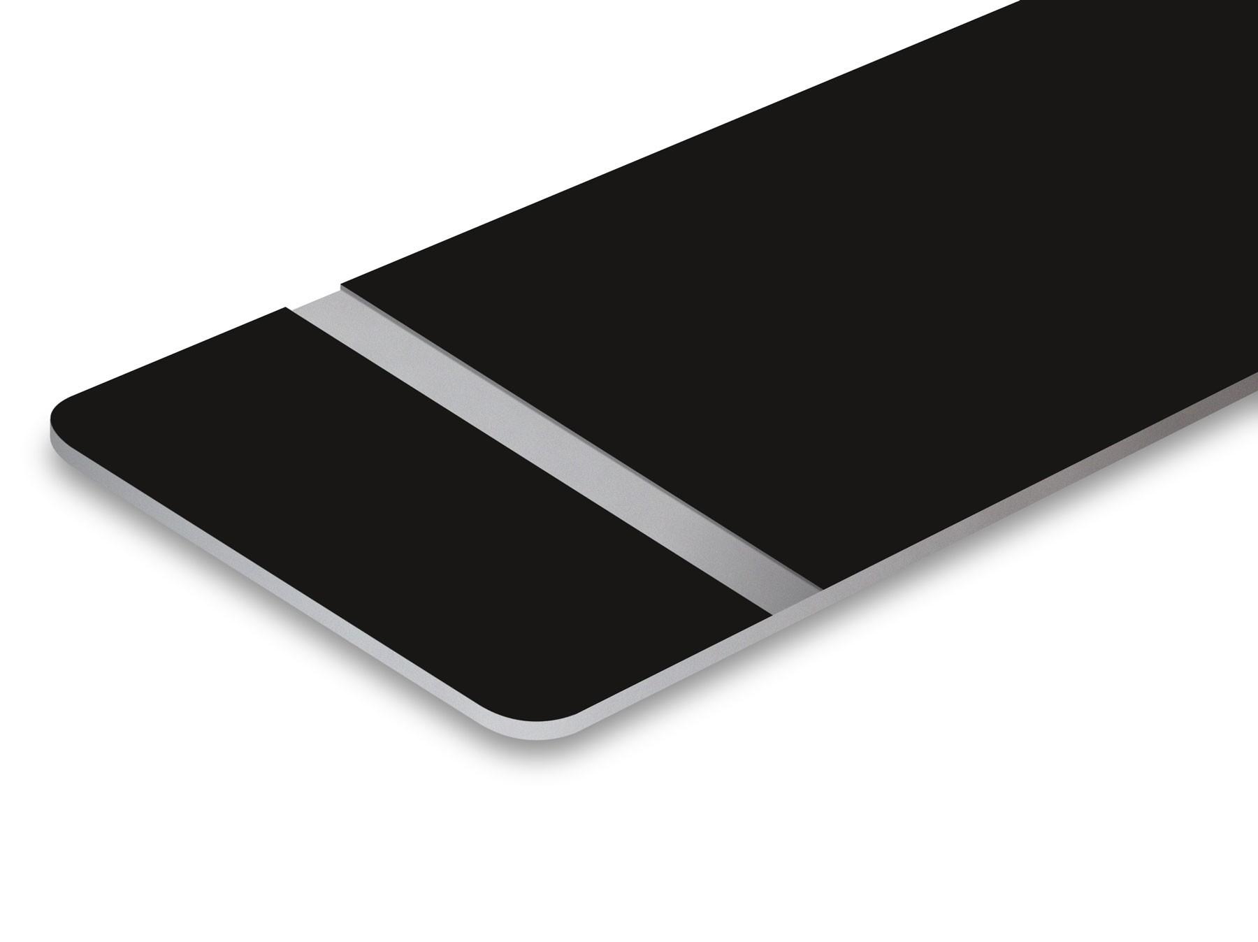 TroLase Lights, Black/Silver, 2ply, 0.1 mm