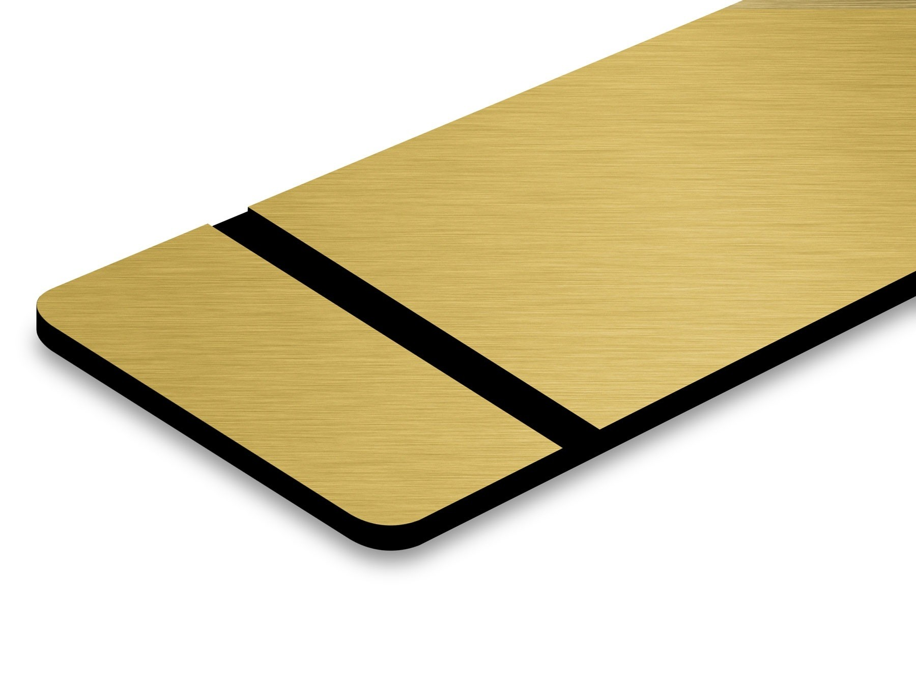 TroLase Metallic, Brushed Gold/Black, 2ply, 0.8 mm