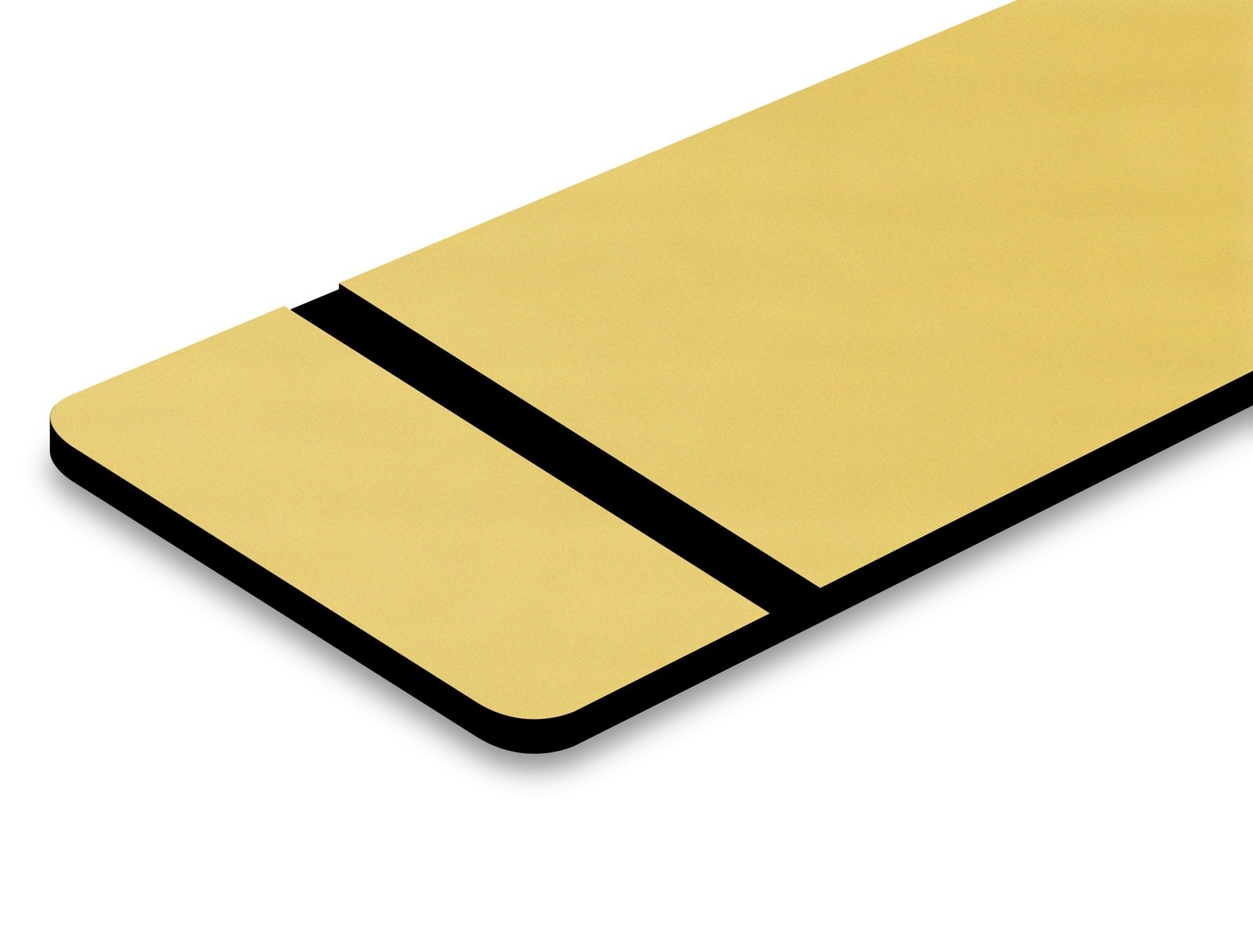TroLase Metallic, European Gold/Black, 2ply, 0.8 mm