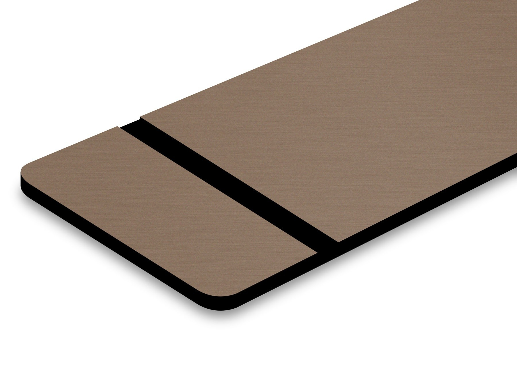 TroLase Metallic, Deep Bronze/Black, 2ply, 1.6 mm