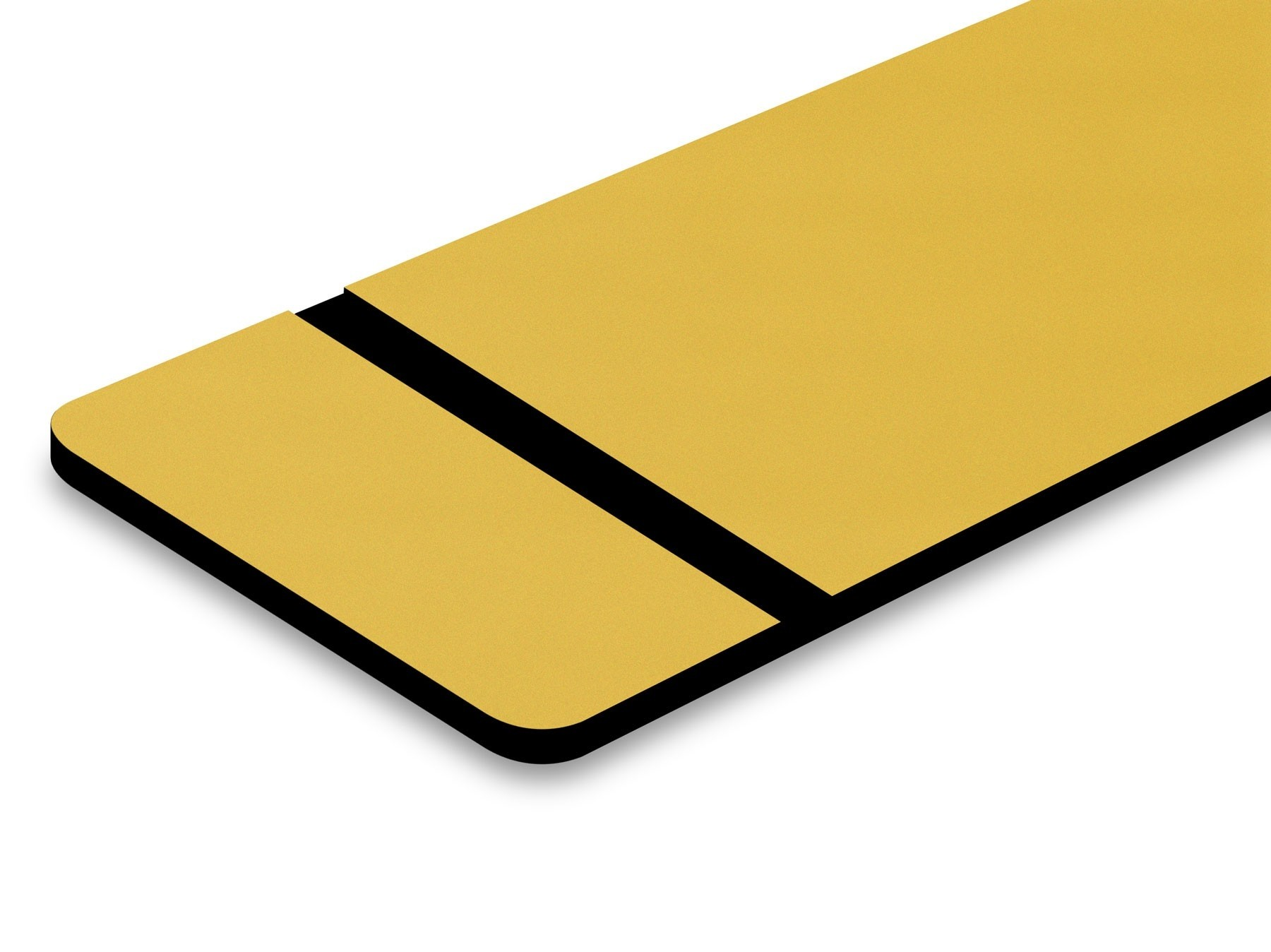TroLase Metallic Plus, Brushed Gold/Black, 2ply, 1.6 mm
