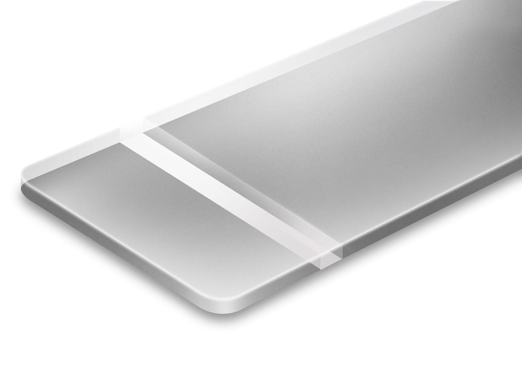 TroLase Reverse, Matte/Silver, 2ply, 1.6 mm
