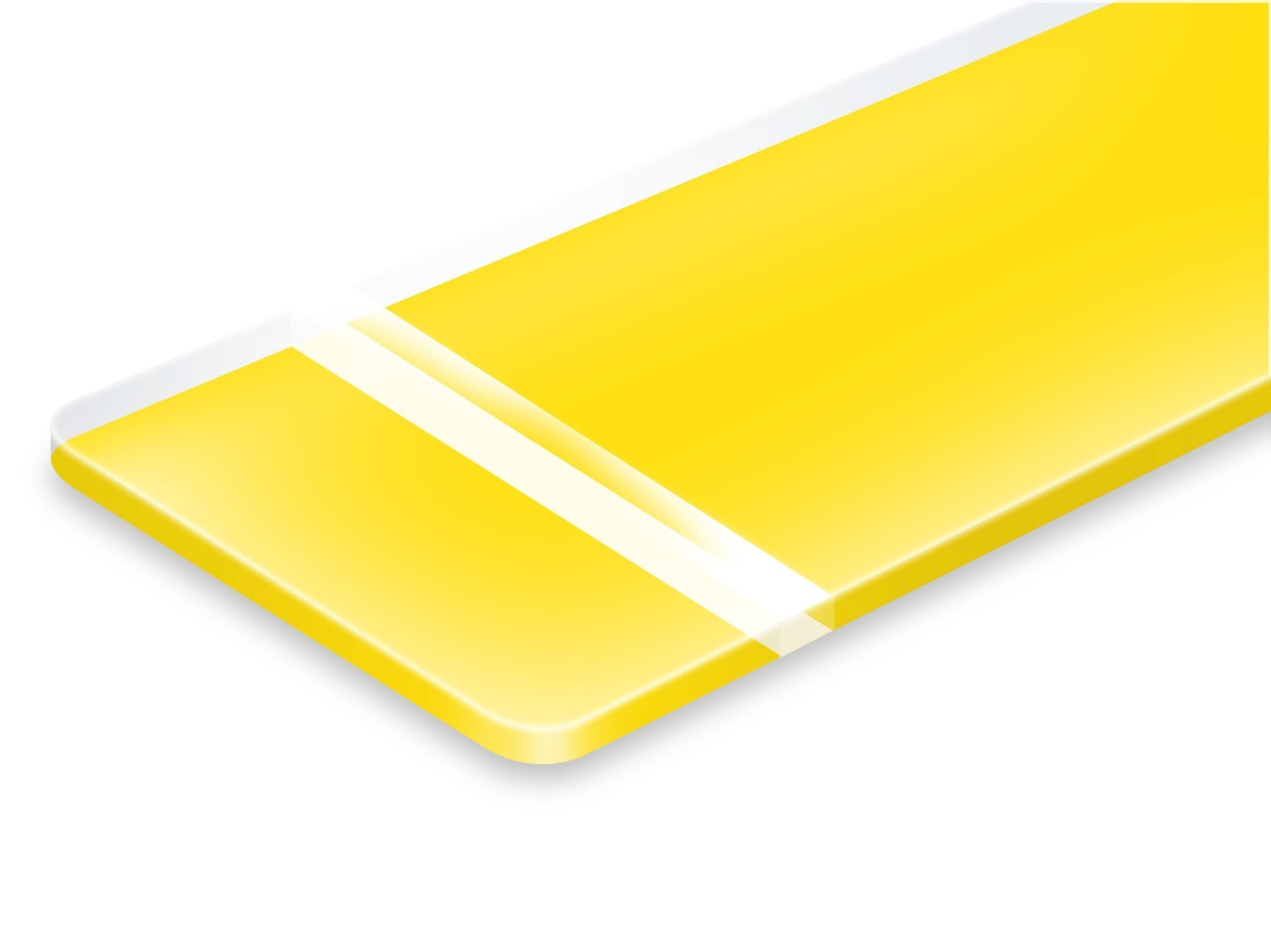 TroLase Reverse, Matte/Yellow, 2ply, 1.6 mm