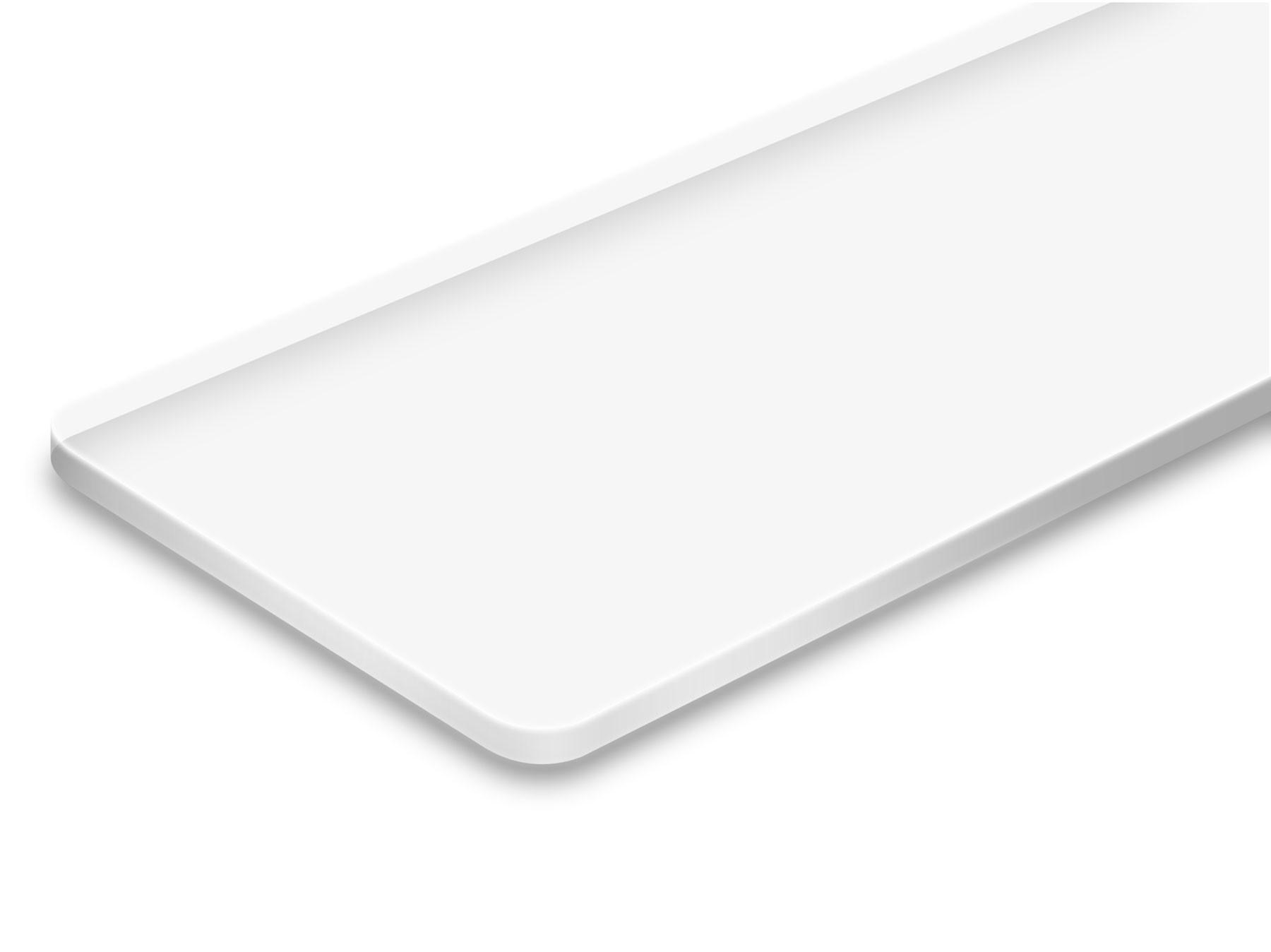 TroLase ADA Signage, Clear, 1ply, 0.8 mm