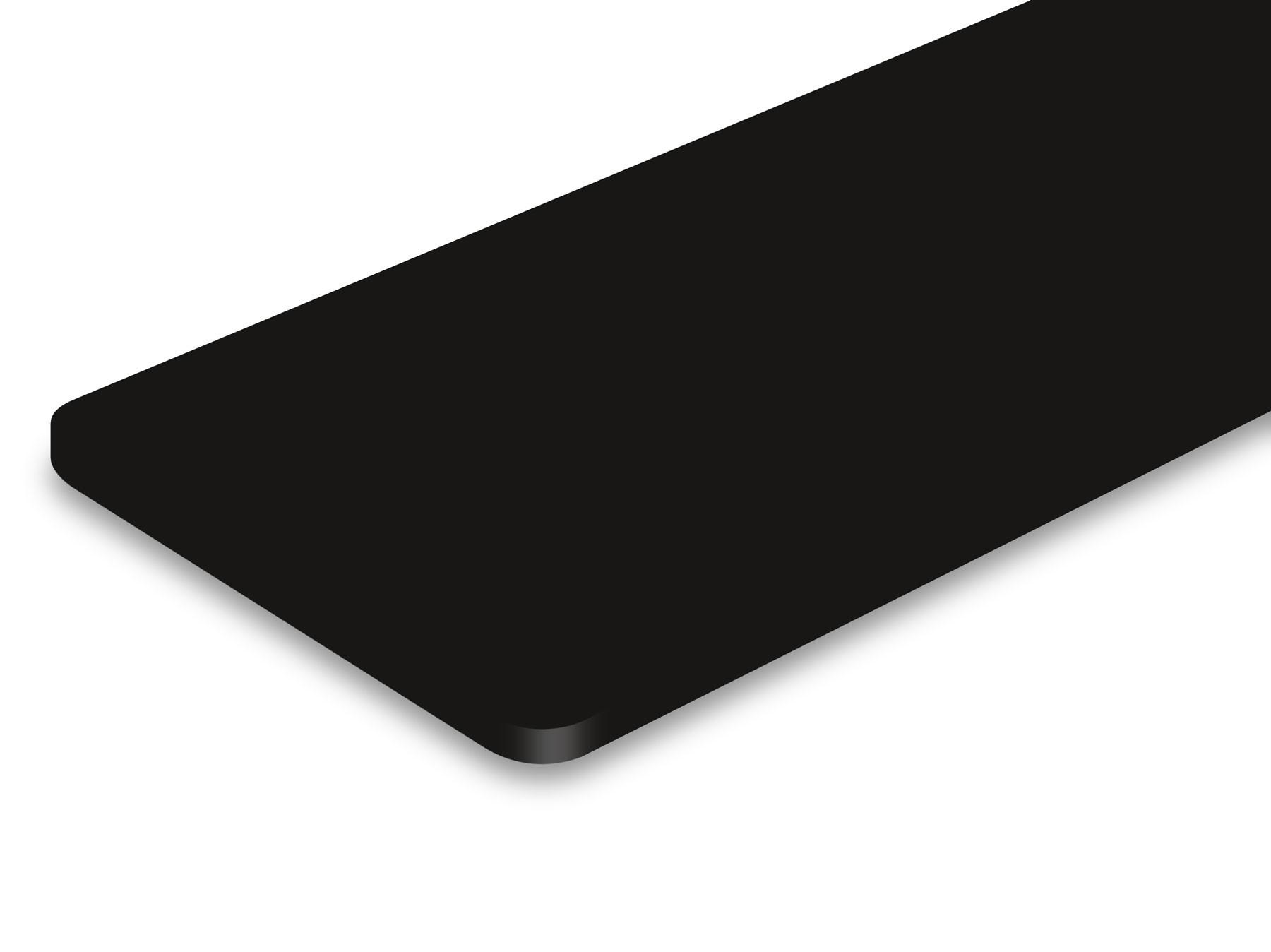 TroLase ADA Signage, Black, 1ply, 1.6 mm