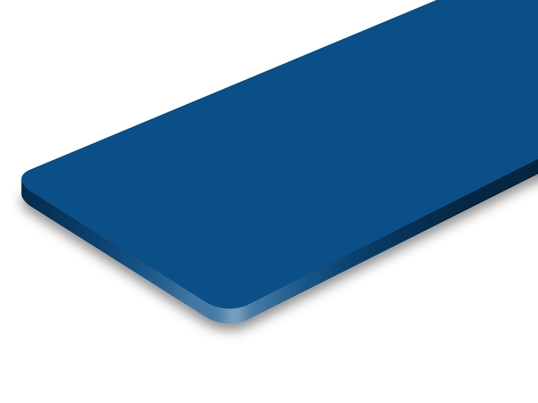 TroLase ADA Signage, Blue, 1ply, 0.8 mm