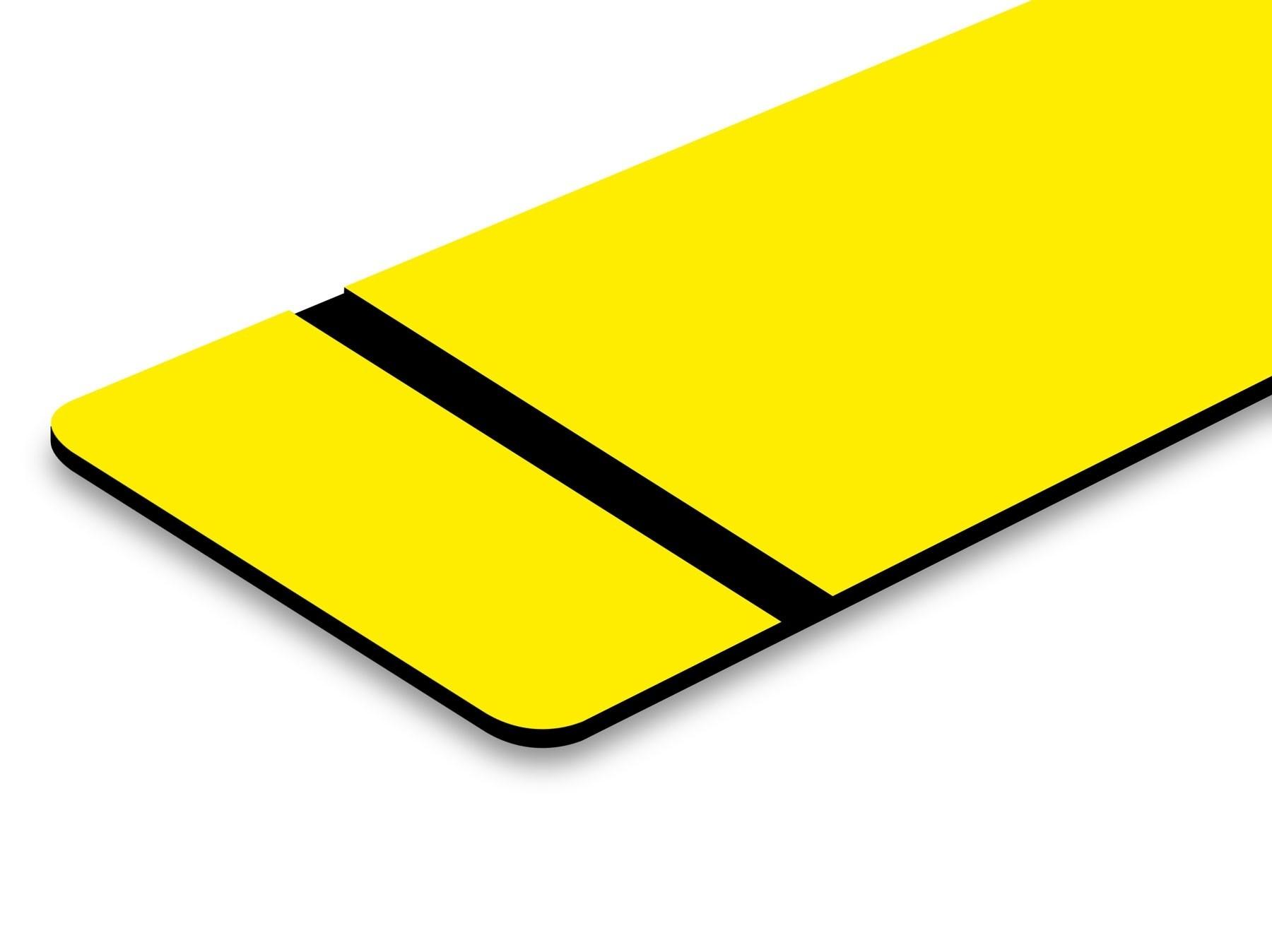 TroLase Thins, Yellow/Black, 2ply, 0.5 mm