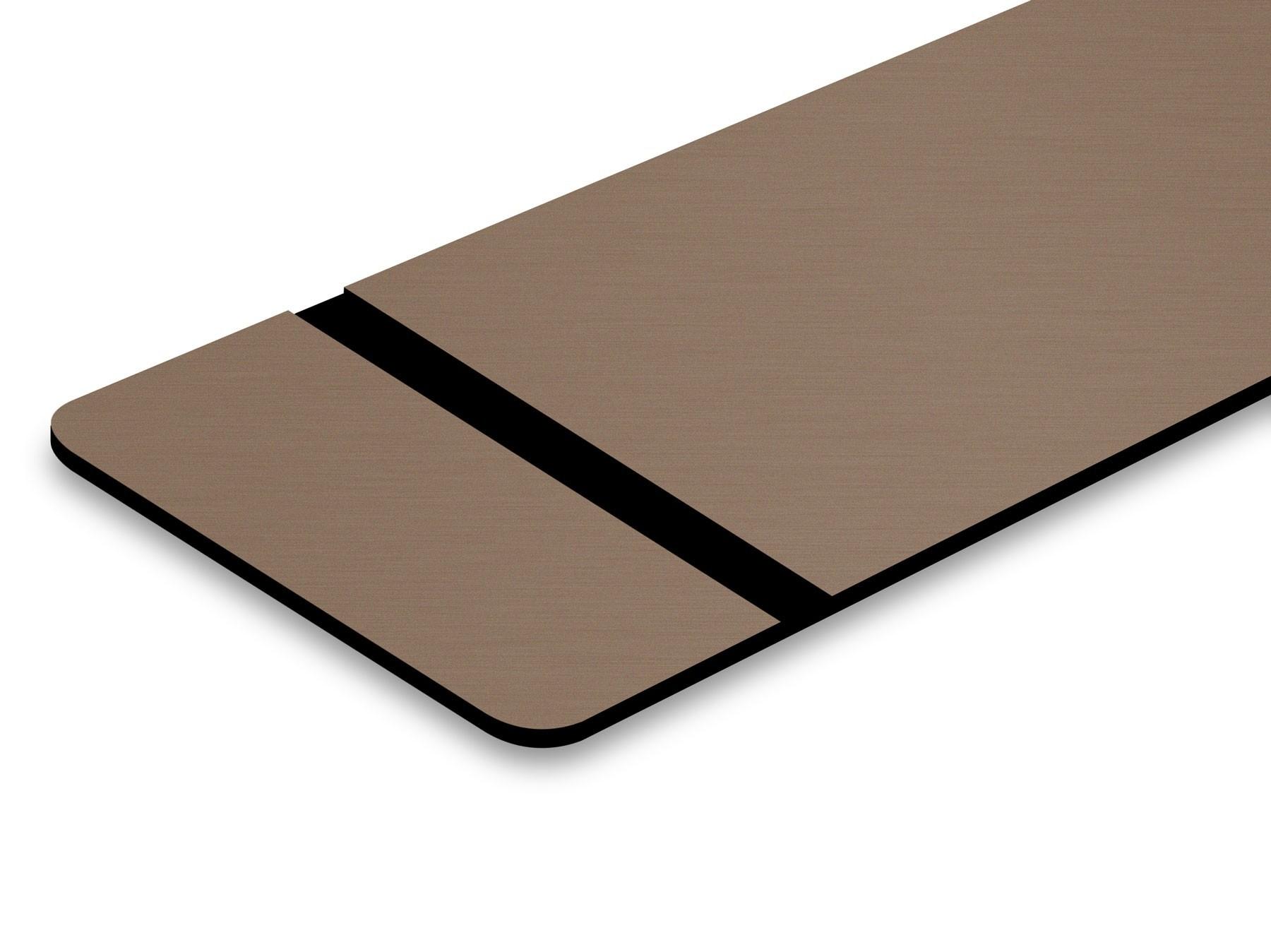 TroLase Thins, Deep Bronze/Black, 2ply, 0.5 mm