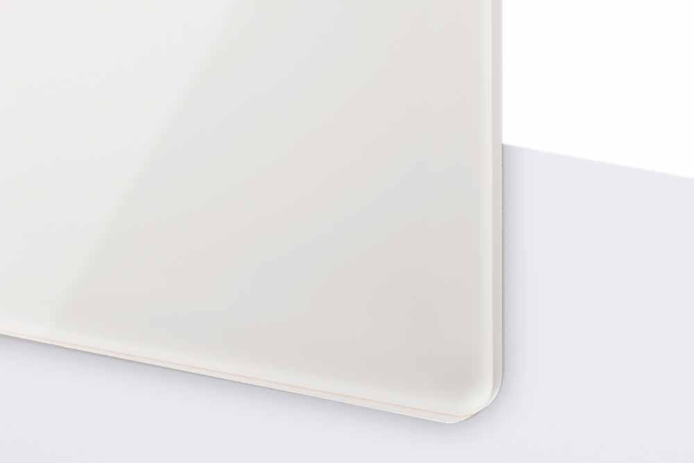 TroGlass Reverse 3mm glänzend/weiß