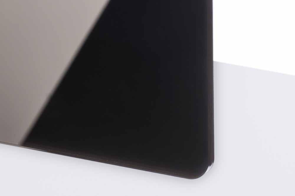 TroGlass Reverse 3mm glänzend/schwarz