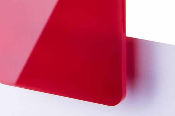 TroGlass Color Gloss Rot lichtdurchlässig 3mm