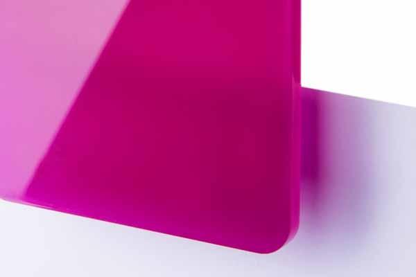 TroGlass Color Gloss Fuchsia lichtdurchlässig 3mm