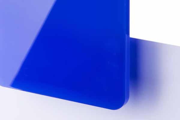 TroGlass Color Gloss Blau lichtdurchlässig 3mm