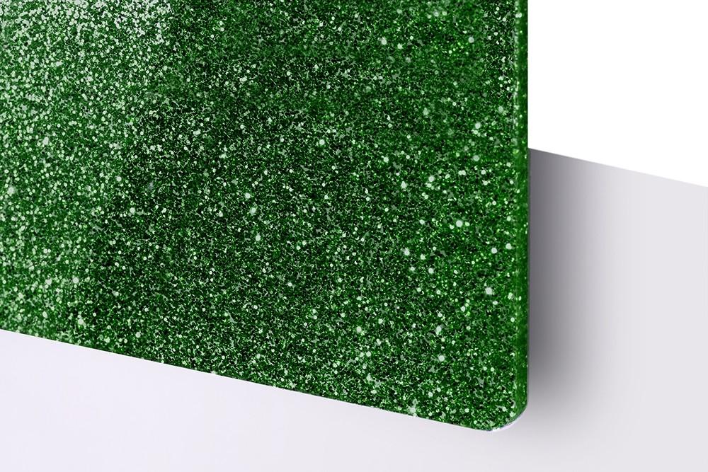 TroGlitter Grün, 3mm