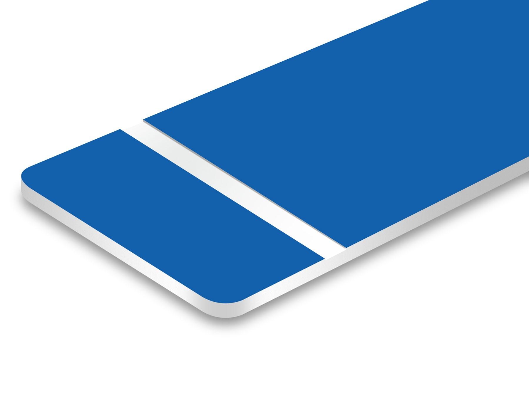 Azul Zafiro/Blanco 1,6mm