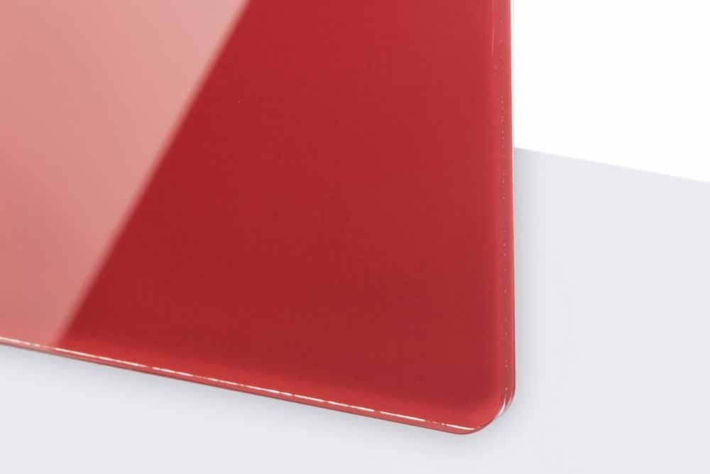 TG4-600 TroGlass Reverse 3mm gloss/rojo