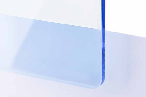TroGlass Color Gloss Azul Hielo Transparente, 3mm