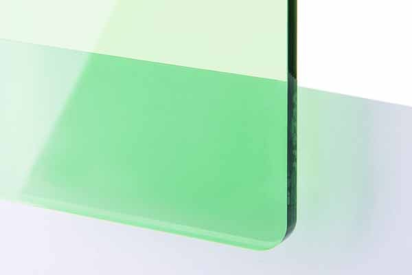 TroGlass Color Gloss Verde Transparente, 3mm
