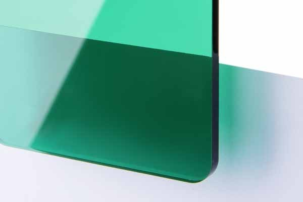 TroGlass Color Gloss Verde Oscuro Transparente, 3mm
