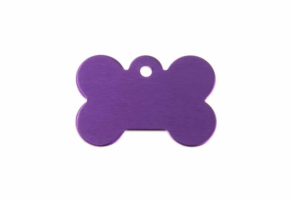 Knochen klein violett 21x31mm
