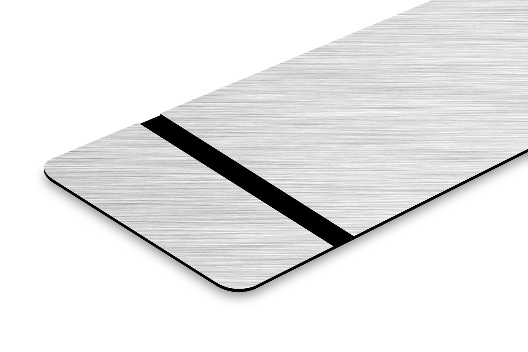 TroLase Foil Nickel gebürstet/Schwarz 0,2mm