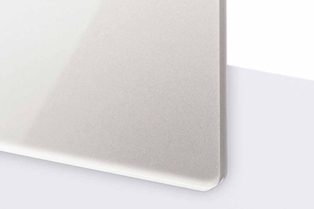 TroGlass Reverse 3mm glänzend/silber