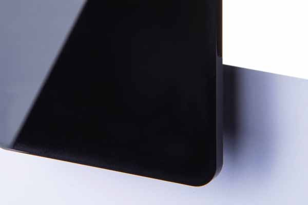 TroGlass Color Gloss Schwarz, 3mm