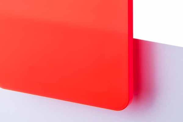 TroGlass Satins Leuchtorange lichtdurchl. 3mm