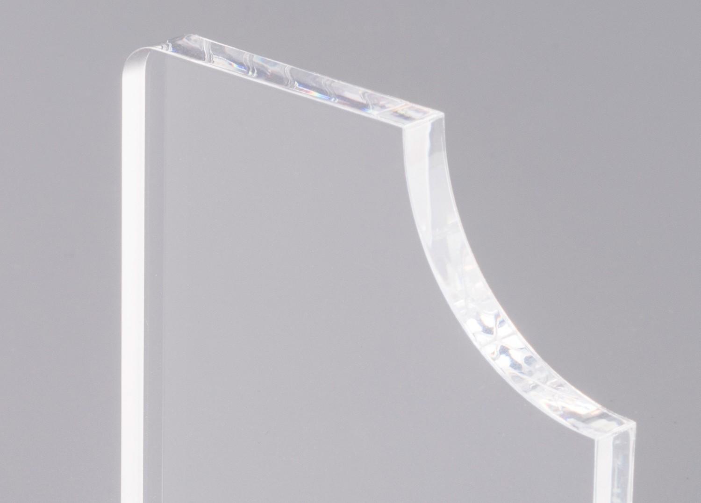 TroGlass Clear Gegossen 610x300x5mm