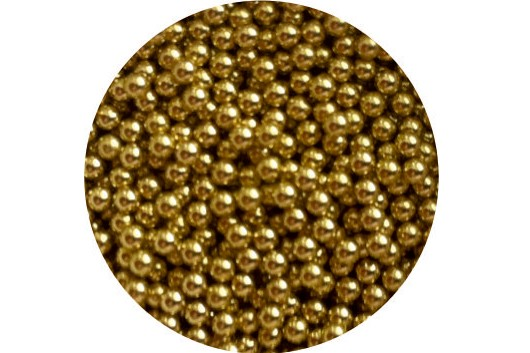 Braille Beads : Brass x 1000