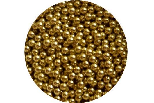 Braille Beads : Brass x 1000