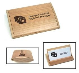Arched Business Card Holder: Maple