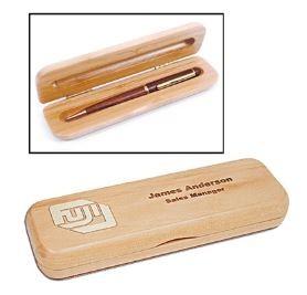 Single Classic Pen Box : Maple