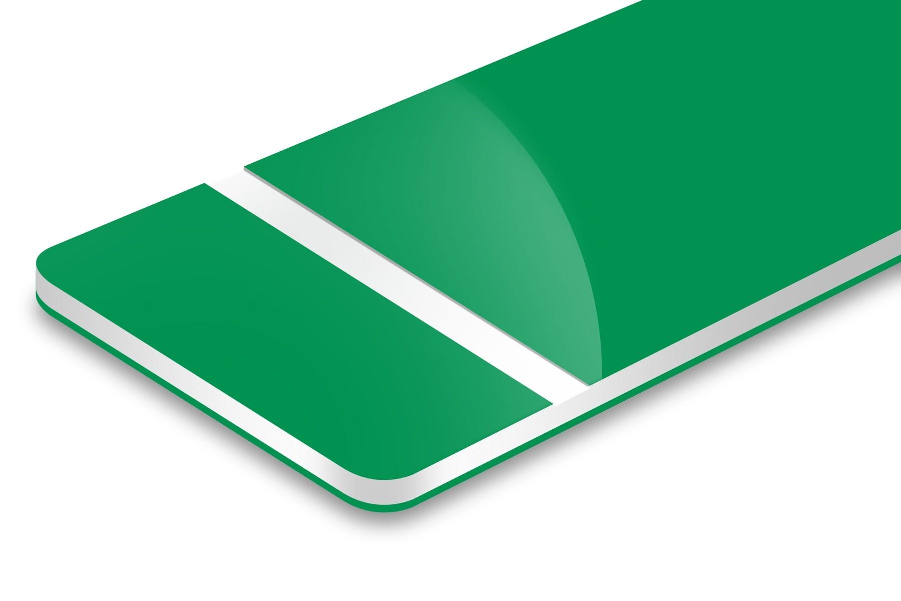 PH932-306 Bri.Green/Whte/Bri.Green 1,6mm