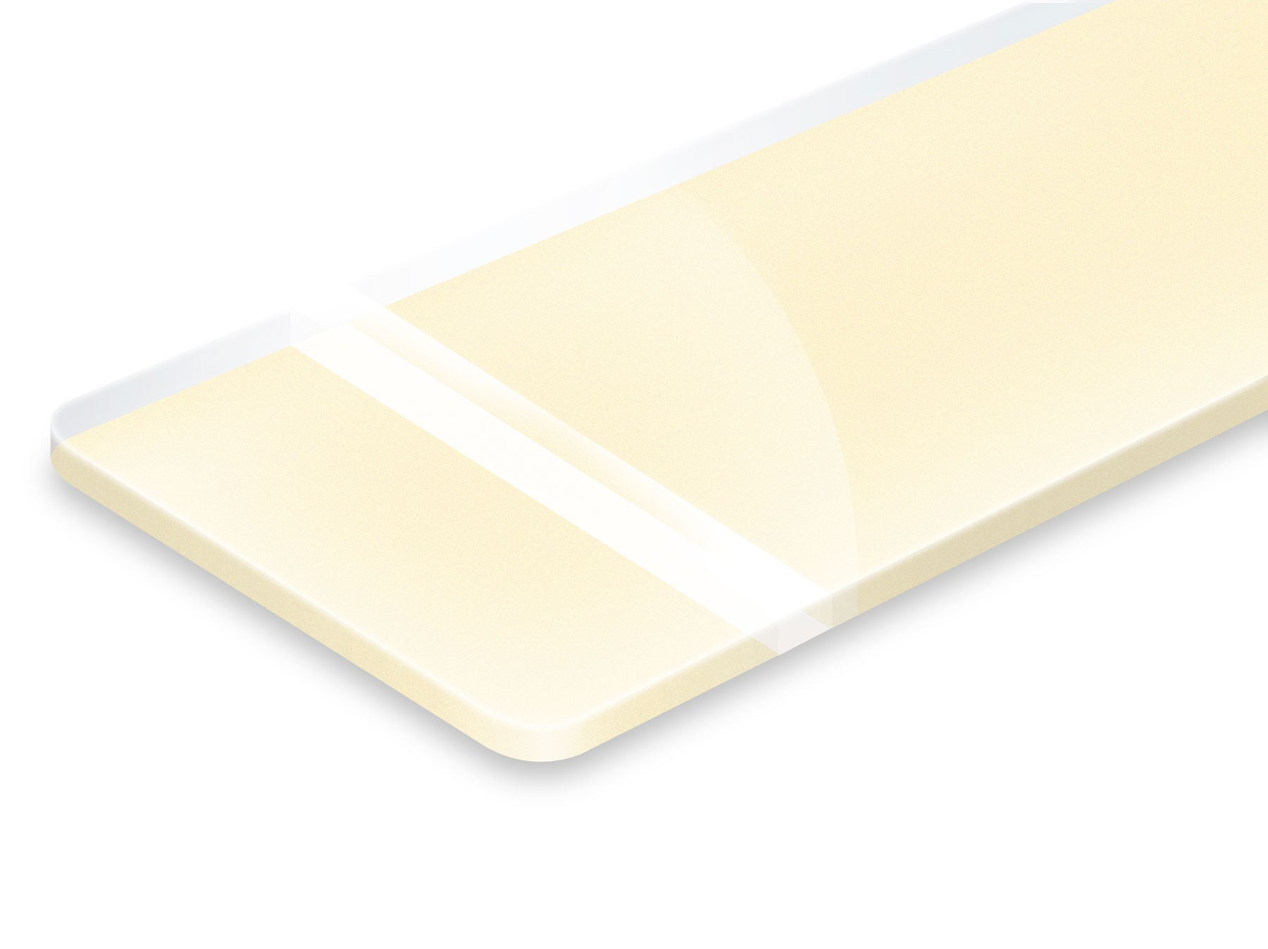 PHR230-209 Clear/Ivory 3,2mm