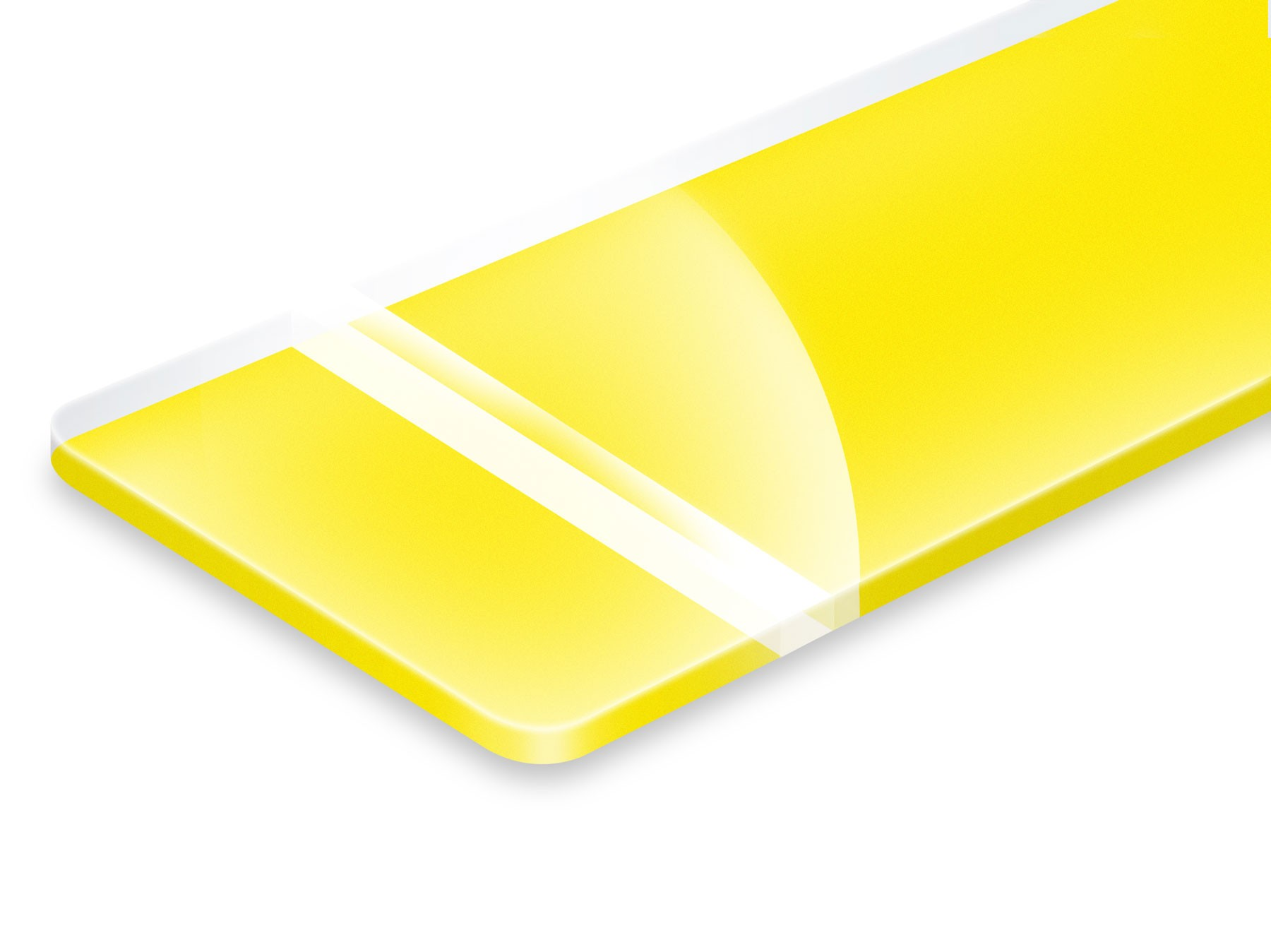 PHR700-206 Clear/Yellow 1,6mm