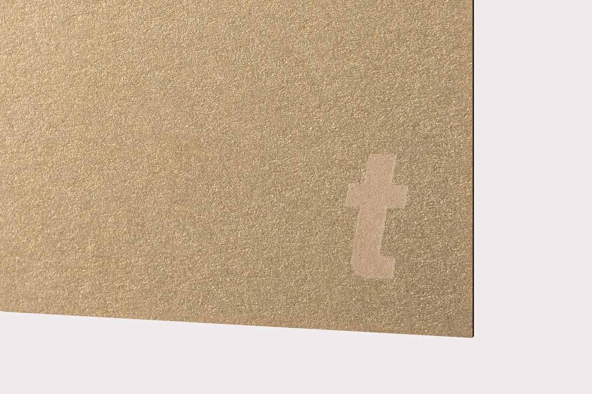 LaserPaper Metals: Gold Leaf 300gsm 10pcs