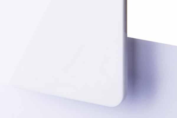 TroGlass Colour Gloss White opal 3mm
