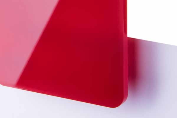 TroGlass Colour Gloss Red translucent 3mm