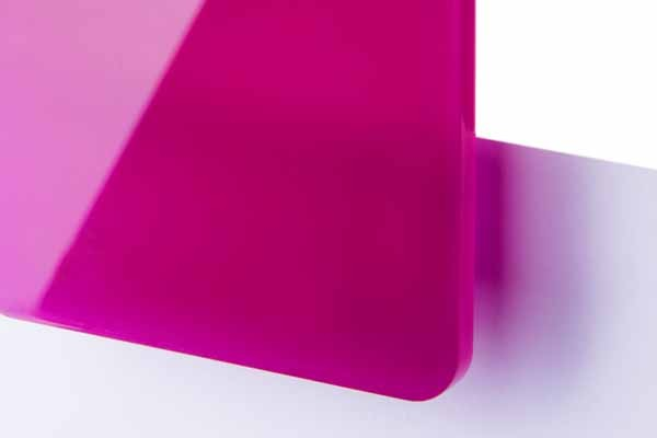 TroGlass Colour Gloss Fuchsia transluscent 3mm