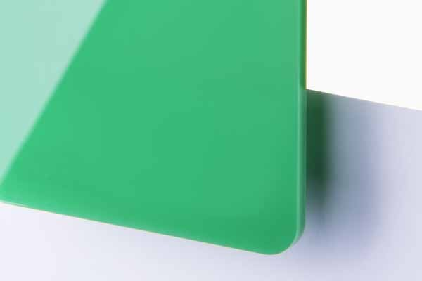 TroGlass Colour Gloss Green translucent 3mm