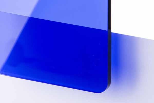 TroGlass Colour Gloss Blue transparent 3mm
