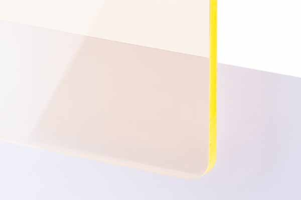 TroGlass Colour Gloss Yellow fluorescent 3mm