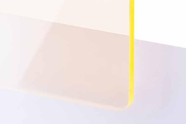 TroGlass Colour Gloss Yellow fluorescent 3mm