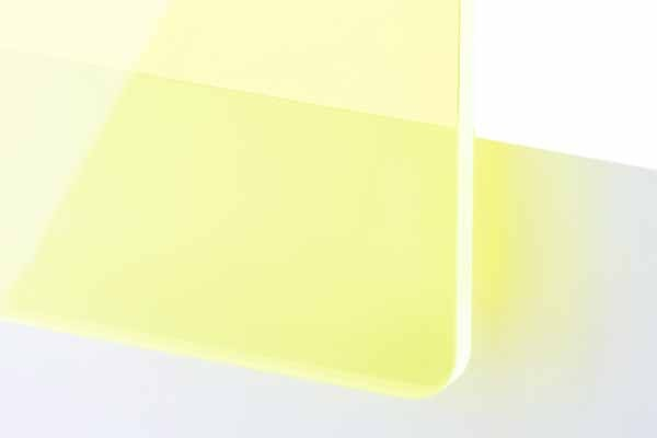 TroGlass Colour Gloss Green fluorescent 3mm